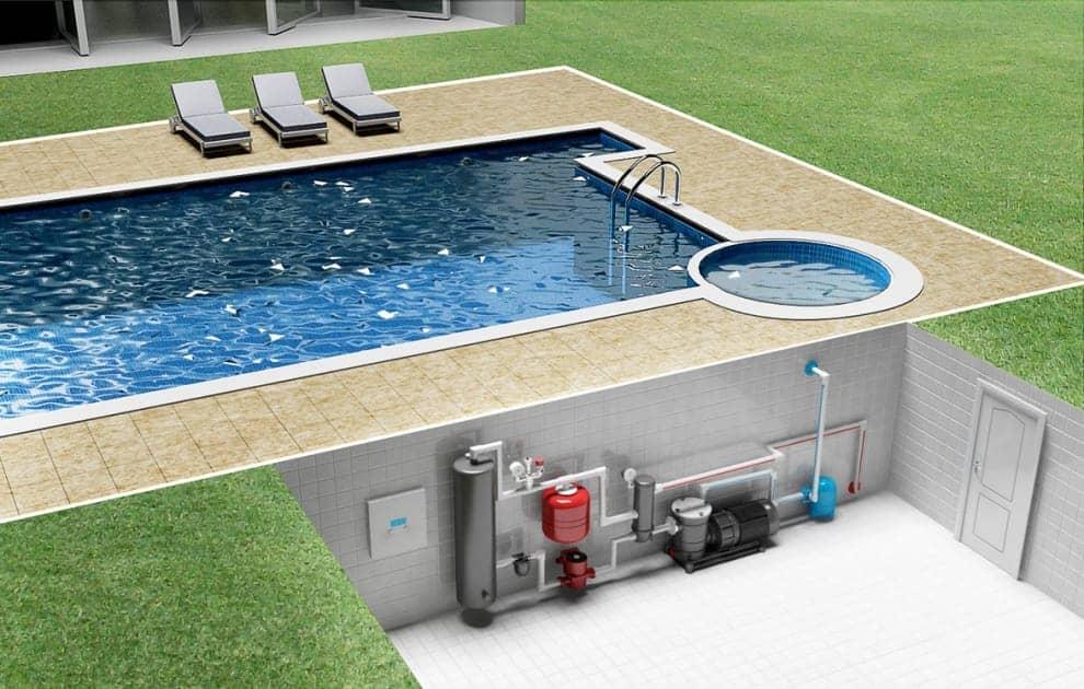 Подбор теплообменника для бассейна